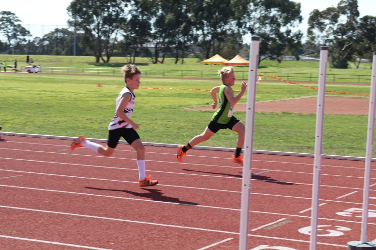 Metro Epping Little Athletics Running sprint